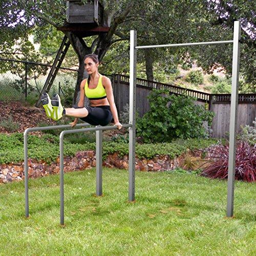 TOLYMP Outdoor-Turngerät Fitness-Station Dip Buin hochwertig und stabil aus...