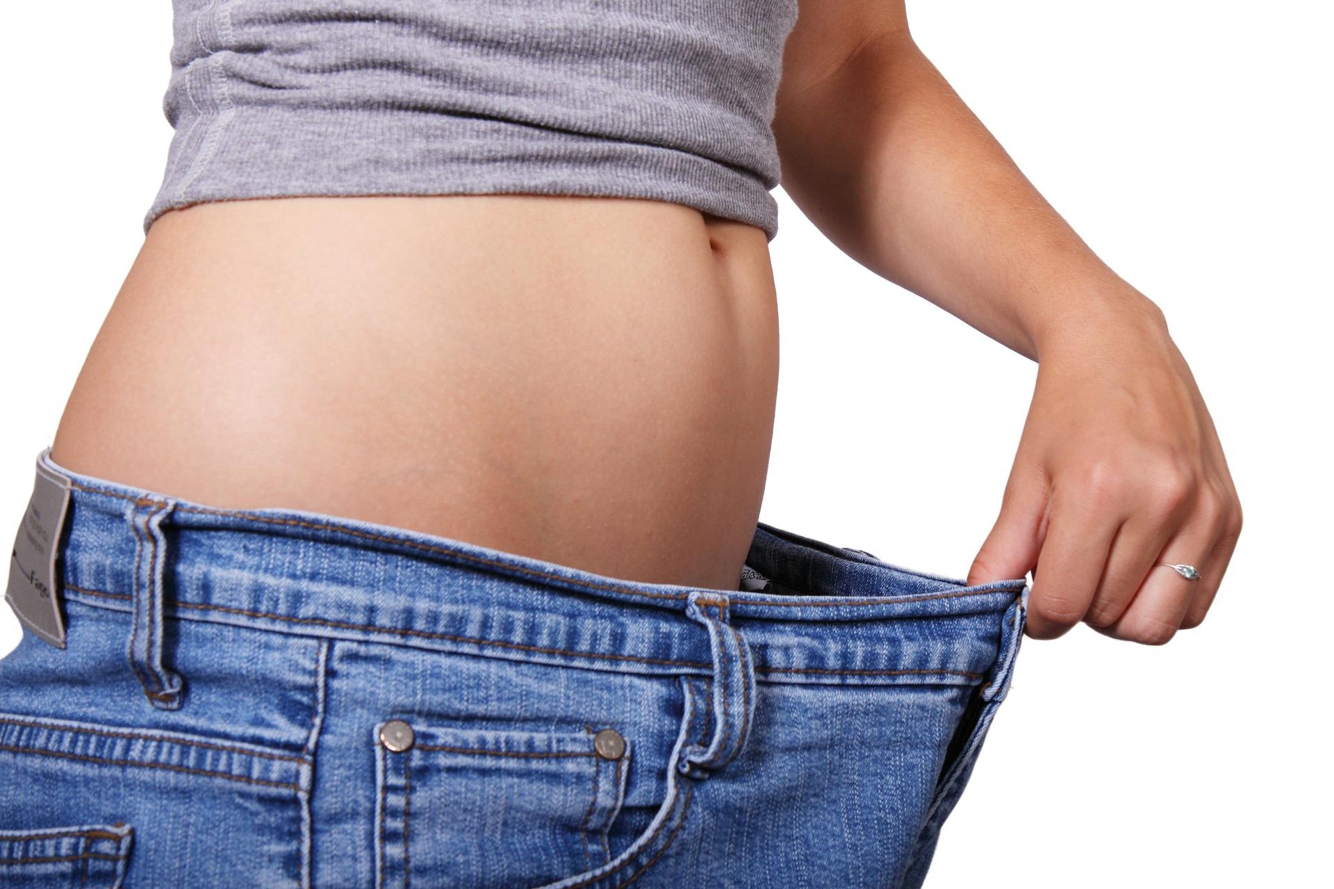 Bauchweggürtel gesunde Ernährung
