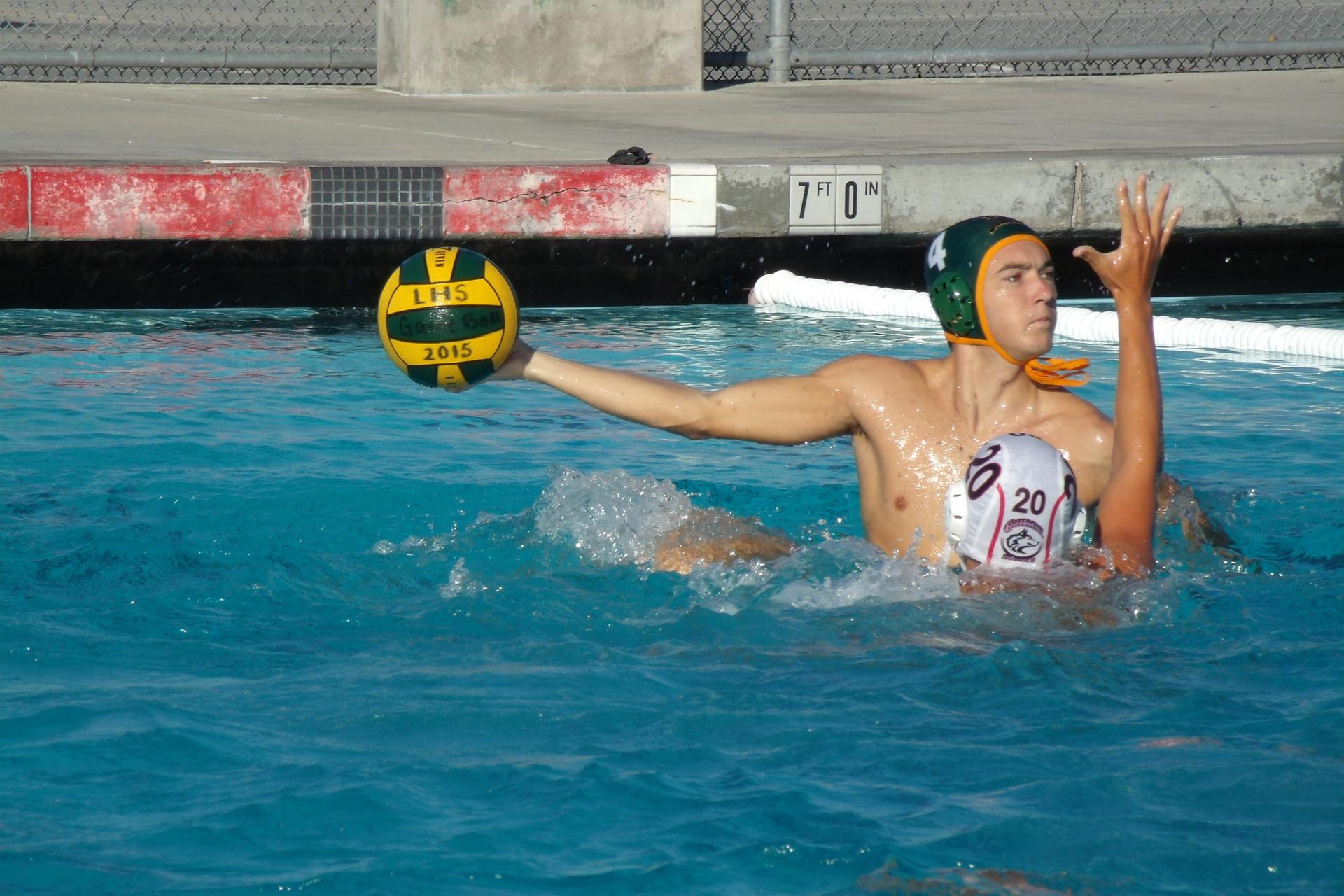 Wasserball Sport verschiedene Arten