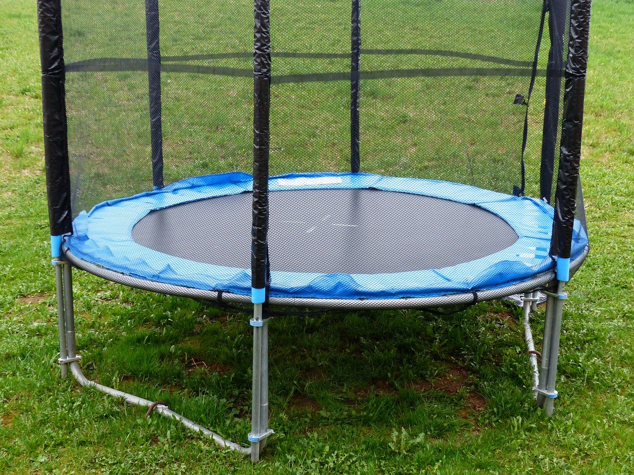 Kindertrampolin Test