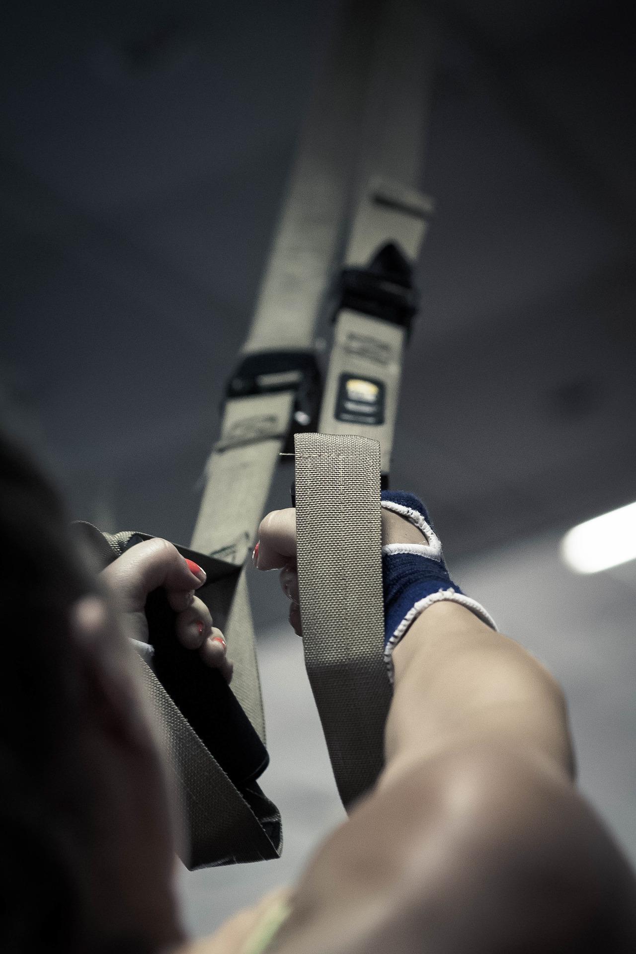 Schlingentrainer fuer besondere Trainingseinheiten