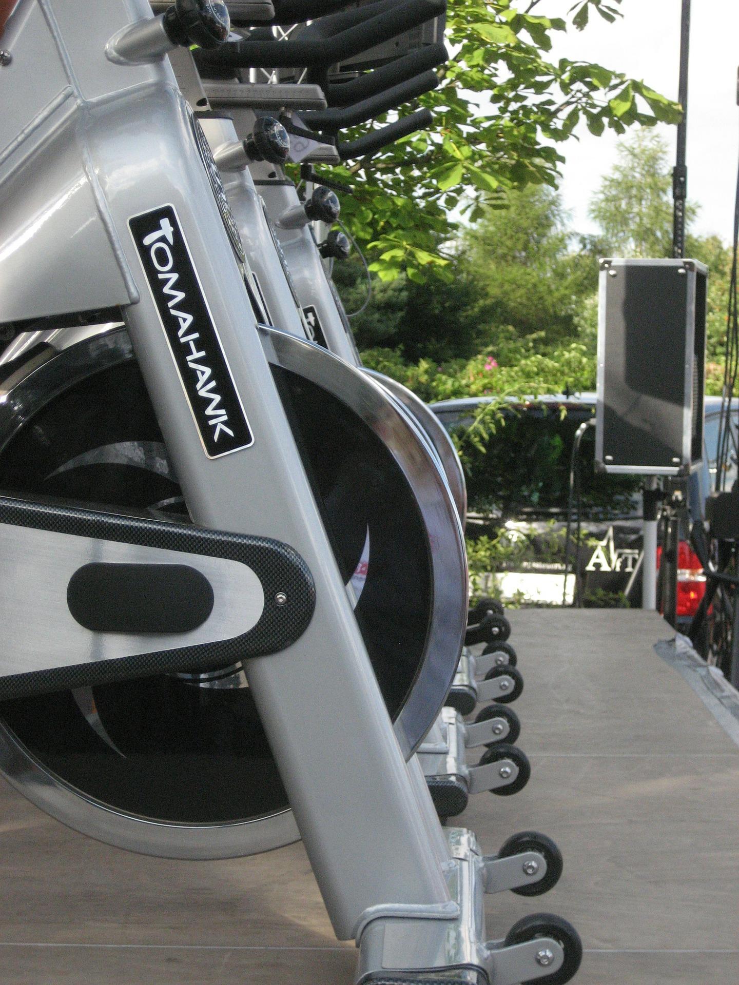 Spinning Bike Drin und draussen nutzen