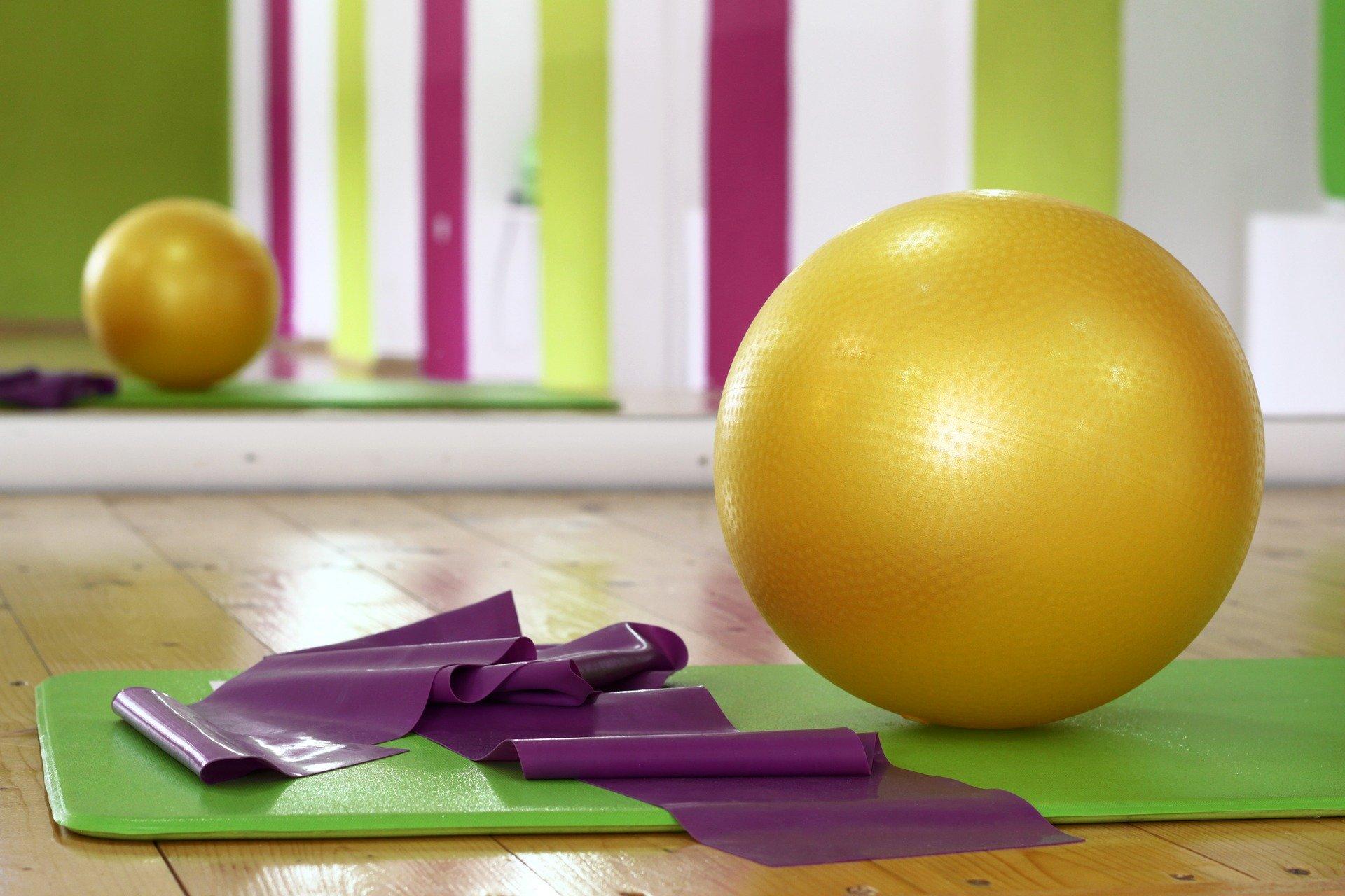 Gymnastikmatte verschiedene Farben