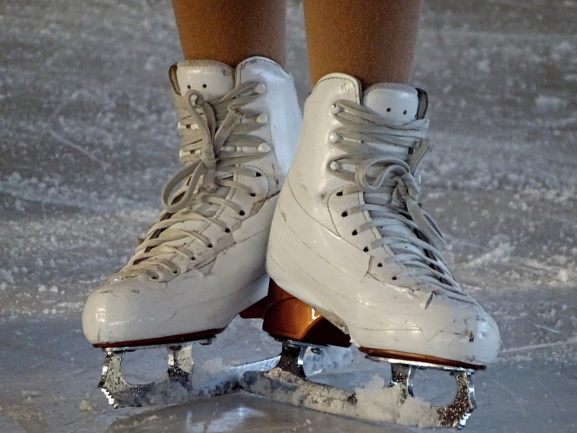 Schlittschuh Eiskunstlaufen