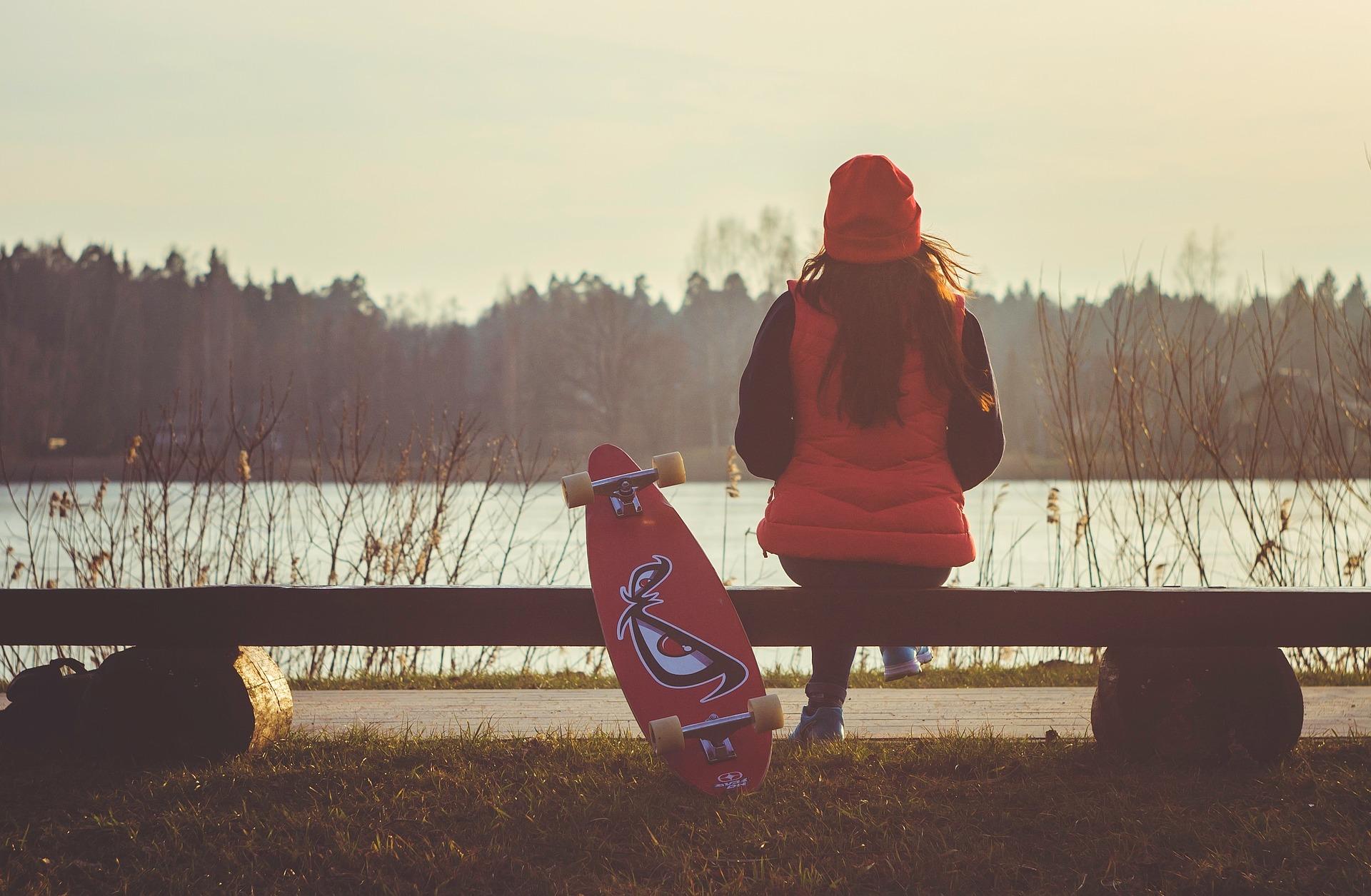Skateboard Freizeitbeschaeftigung