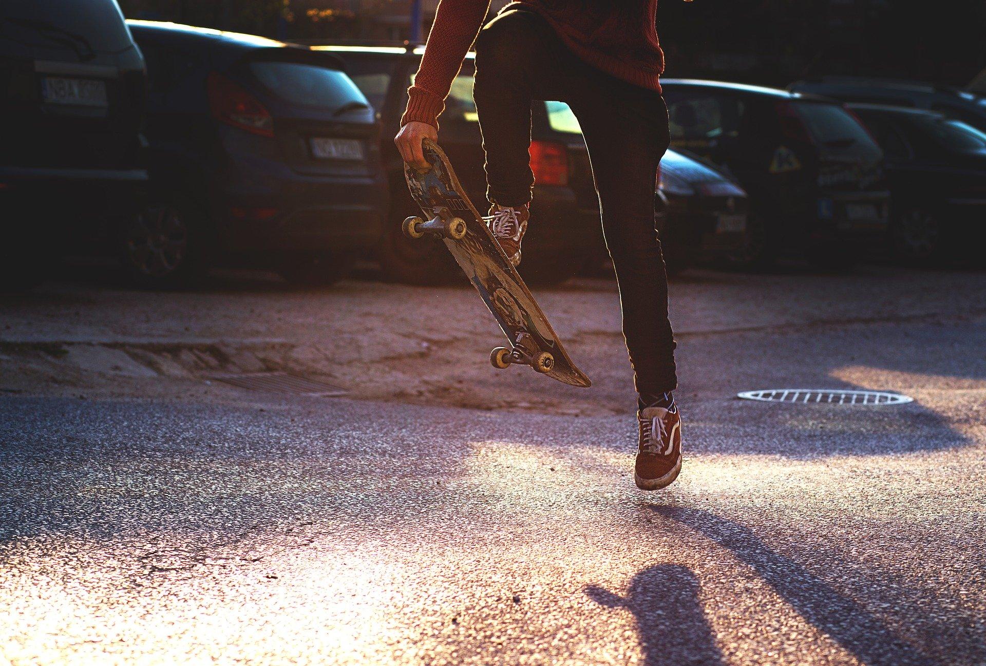 Skateboard Training und Belastung