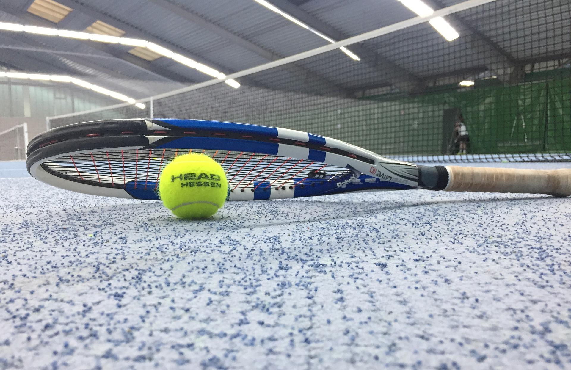 Tennisschlaeger verschiedene Arten