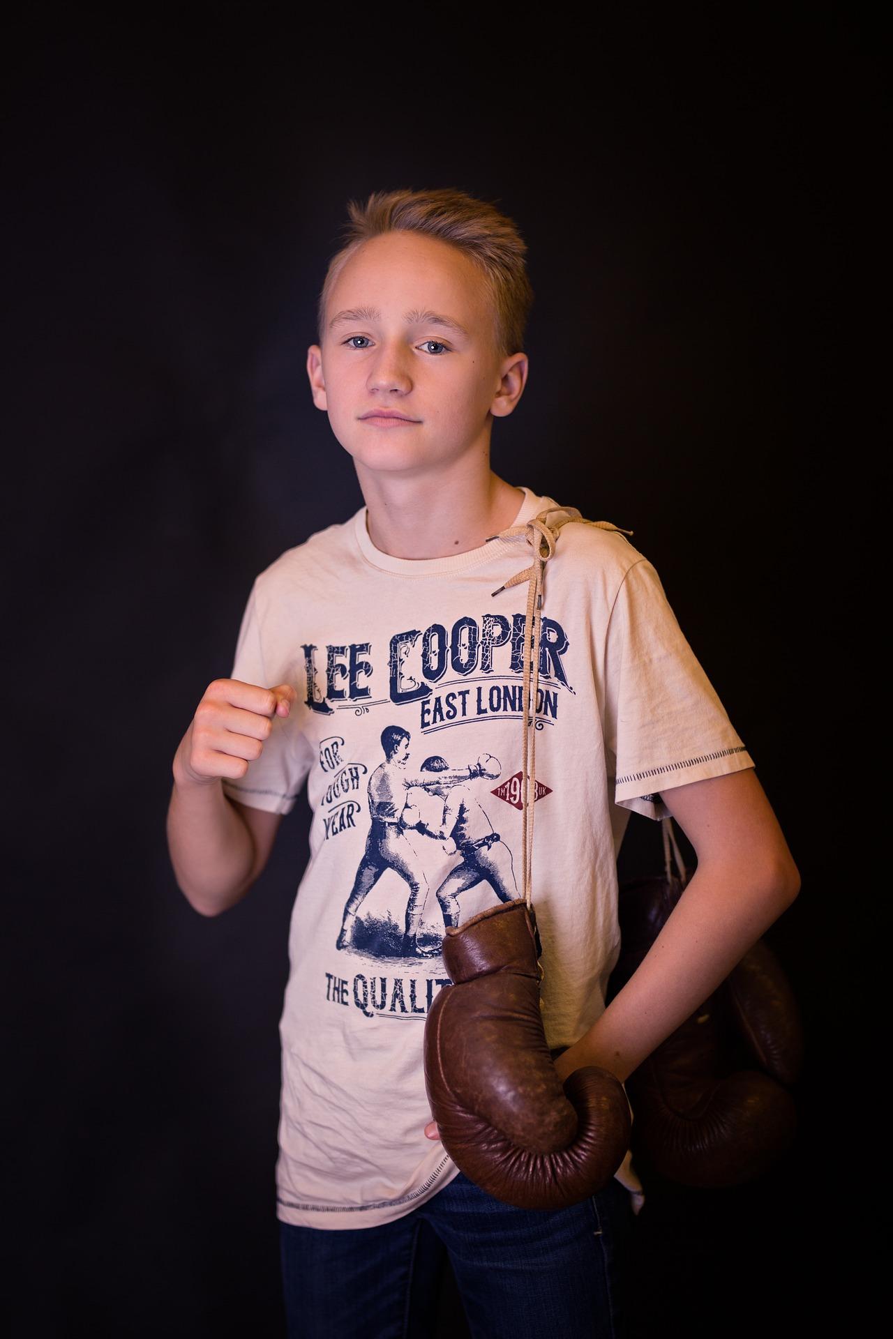 Boxsack fuer Kinder Boxhandschuhe Sicherheit