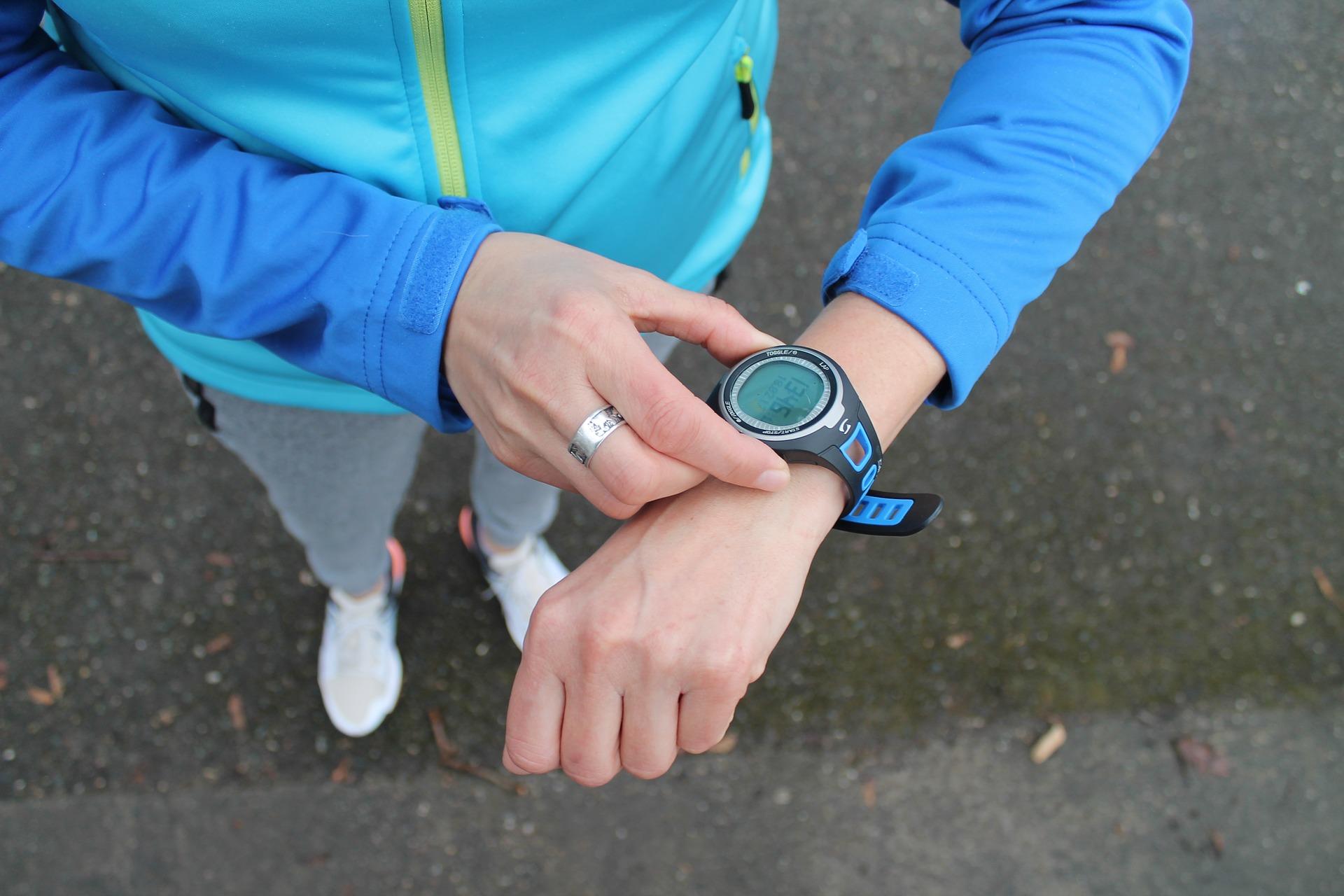 Fitness Uhr Herzfrequenzen messen