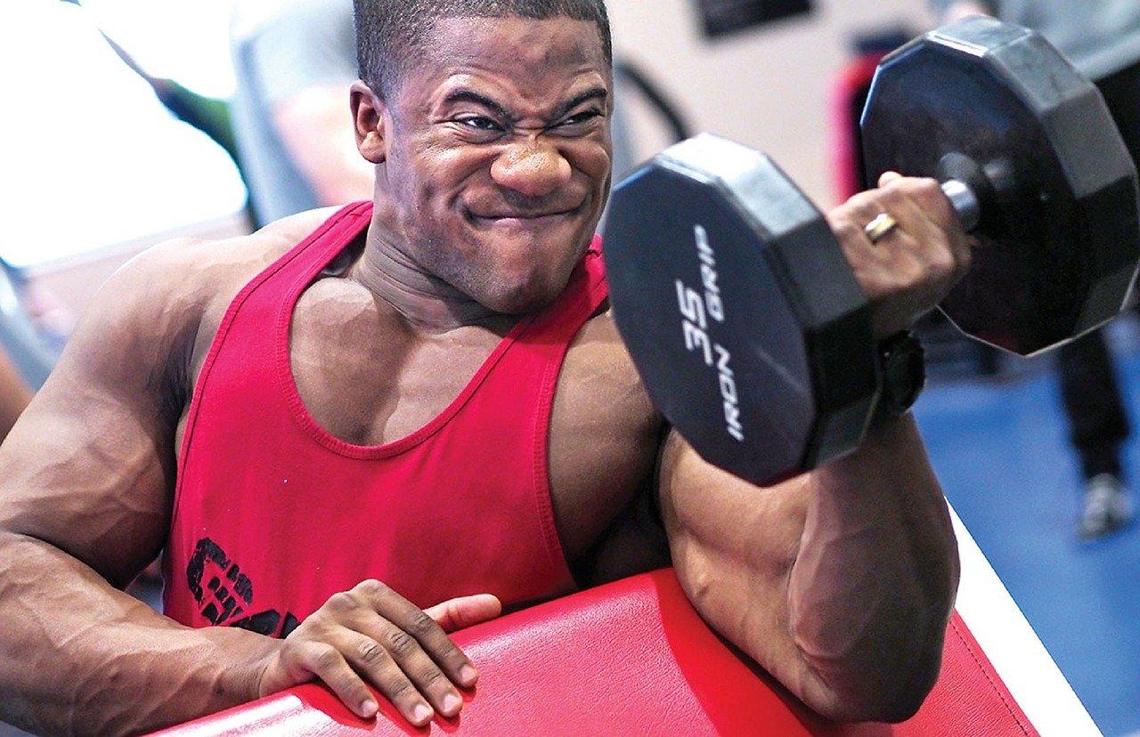 Glutamin ist gut fuer Muskelaufbau