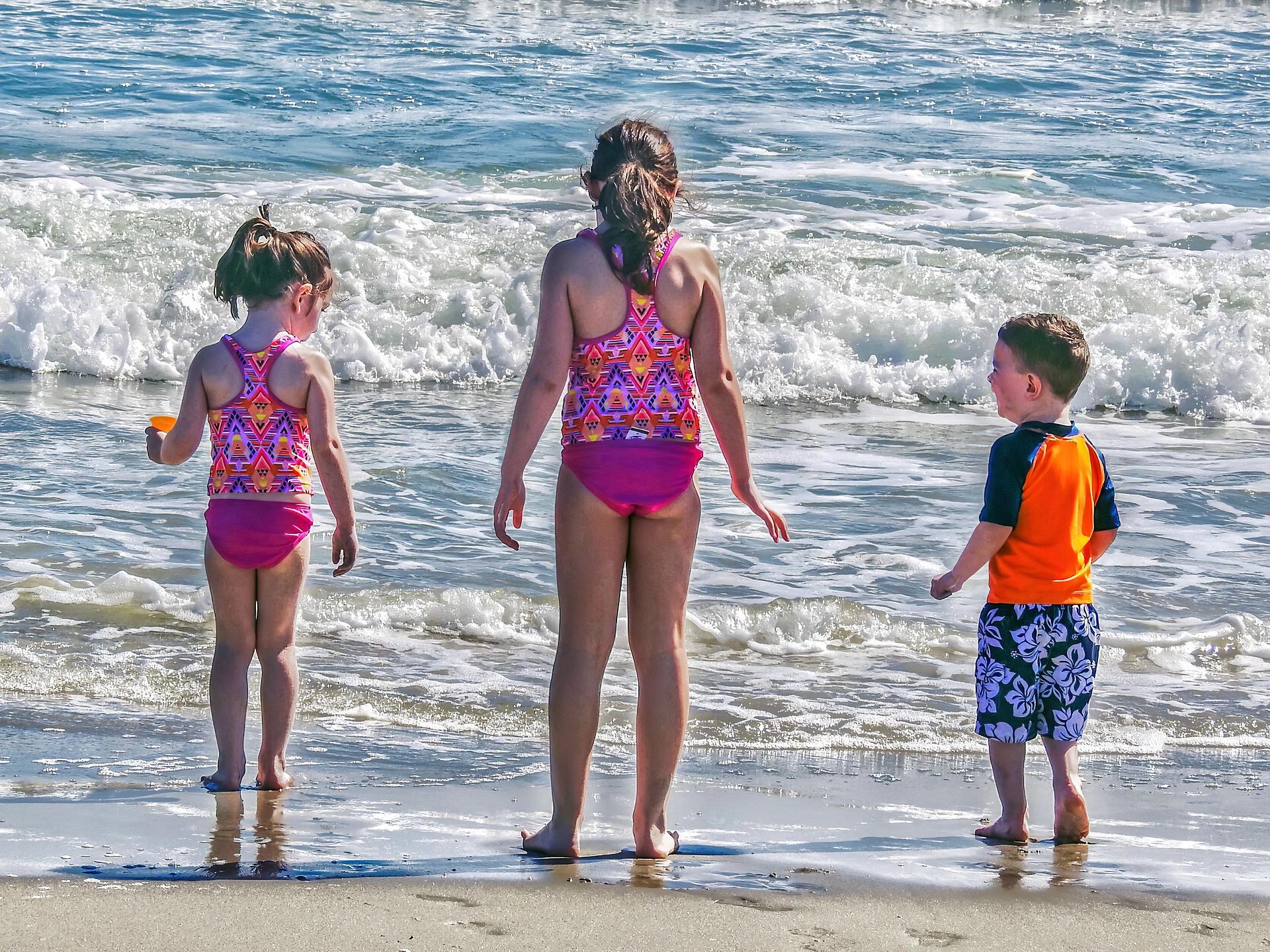 Schwimmguertel Familienurlaub