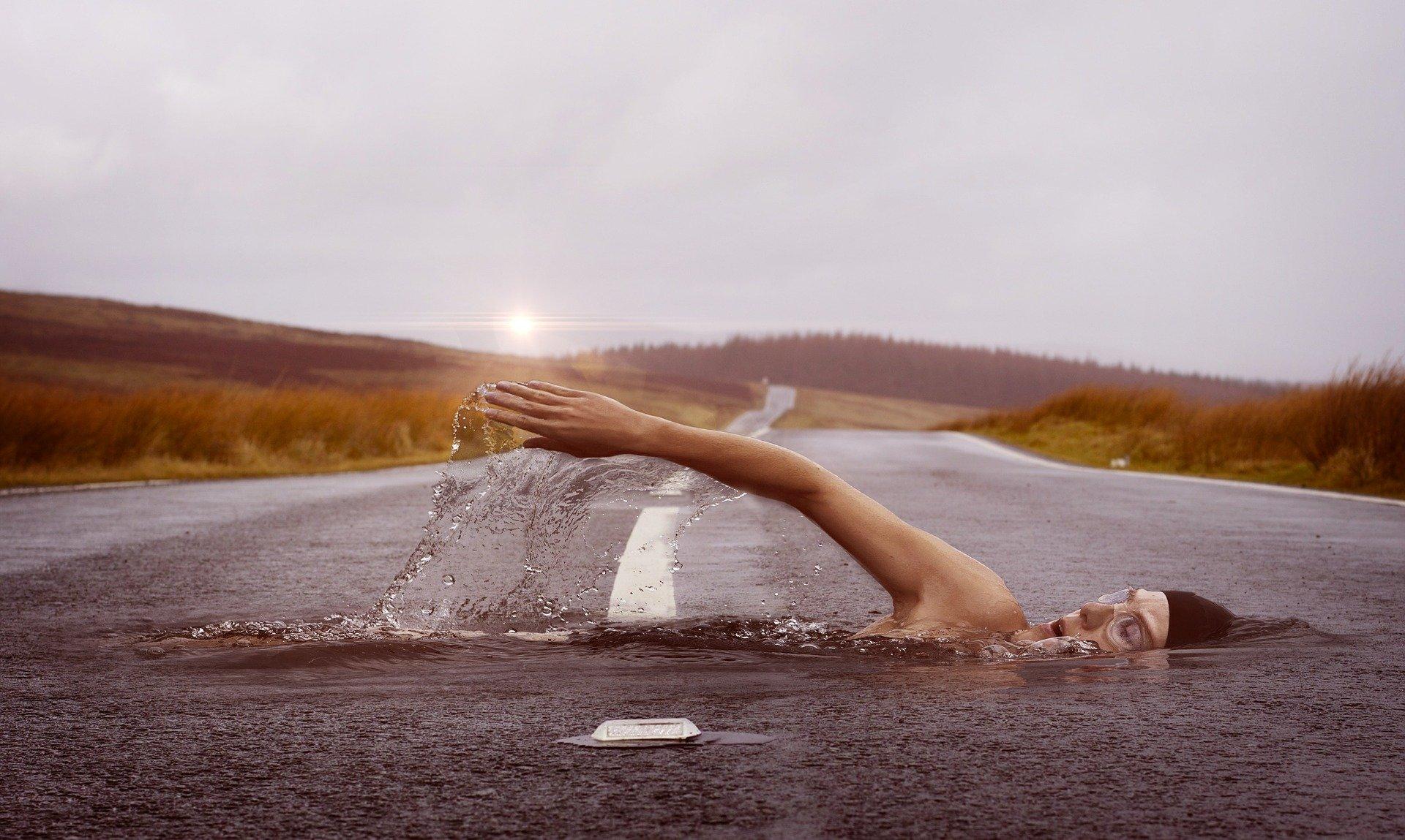 Schwimmguertel laengere Strecken schwimmen