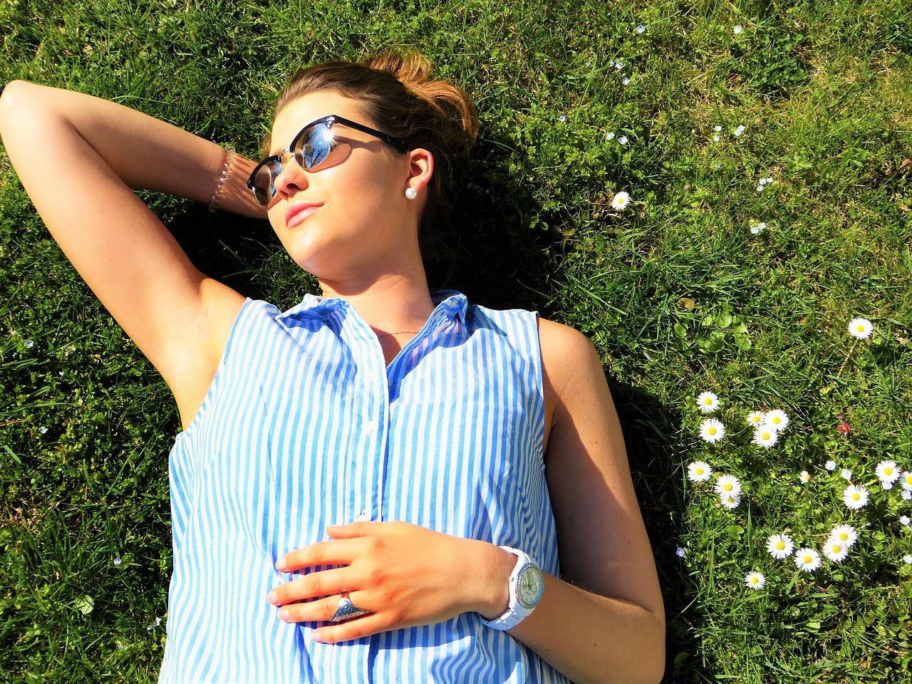 Die Sonne ist ein sehr guter Vitamin D Spender.