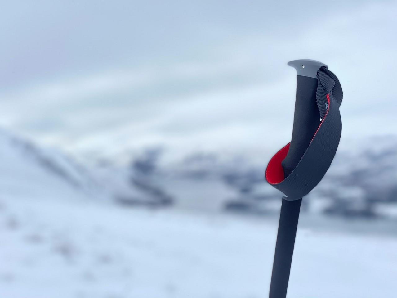 Griffe der Trekkingstöcke verfügen meist über eine ergonomische Form und liegen deshalb gut in der Hand.