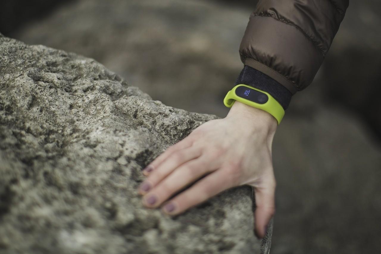 Fitness-Armband Test