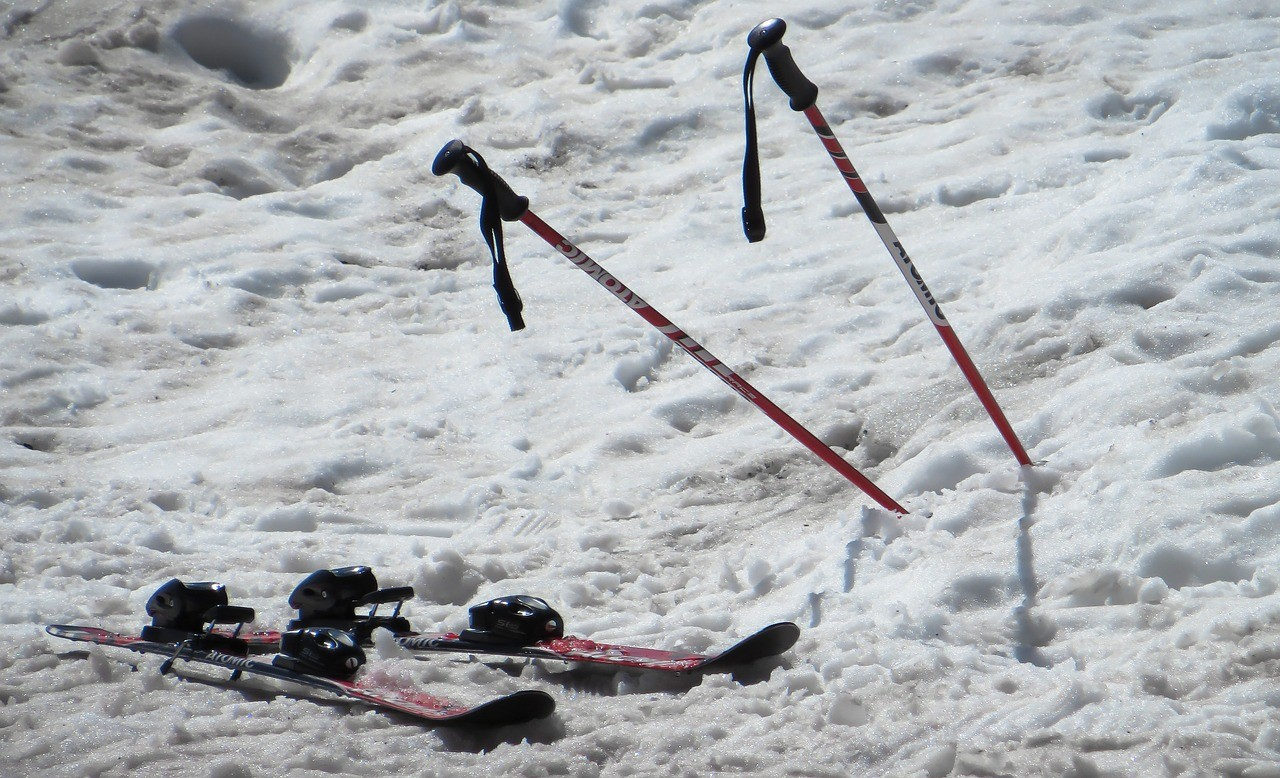 Skistöcke Test