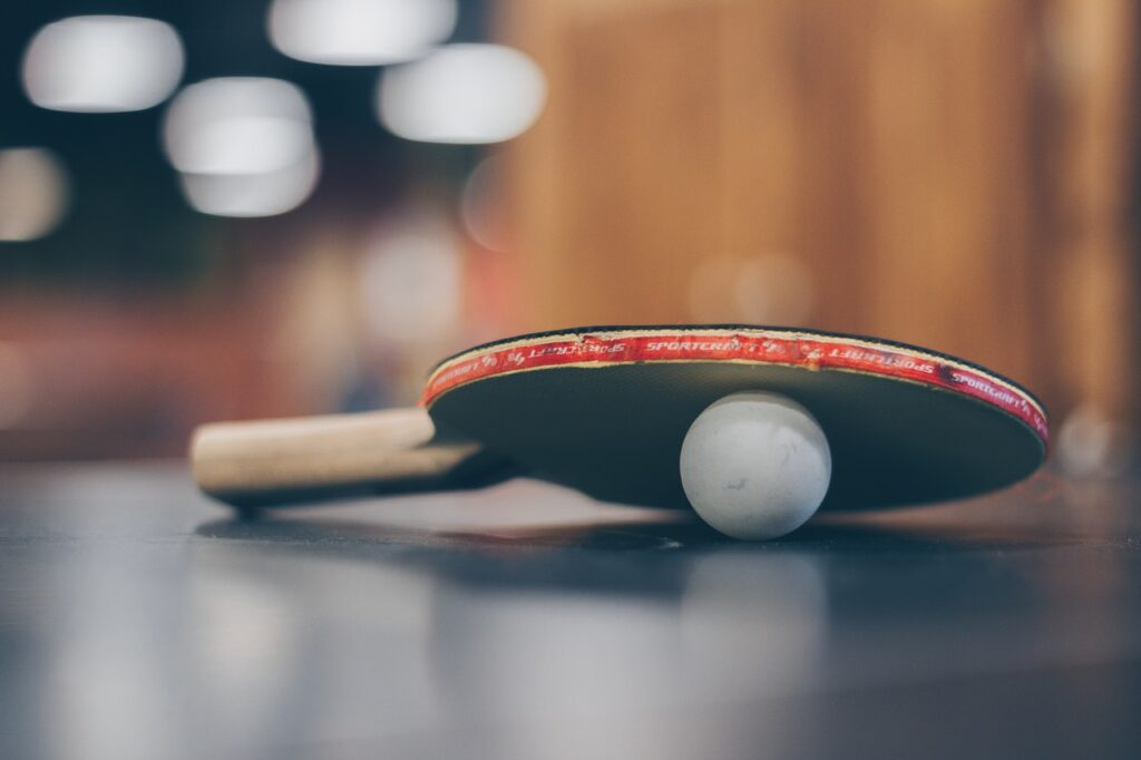Tischtennistasche Test