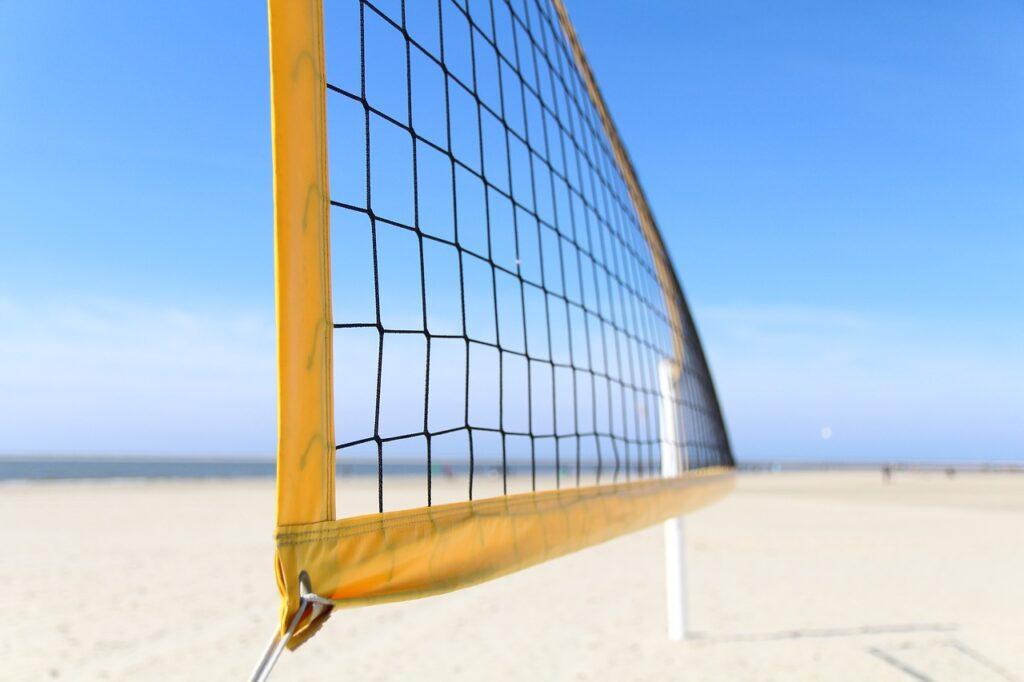Volleyballnetz Test
