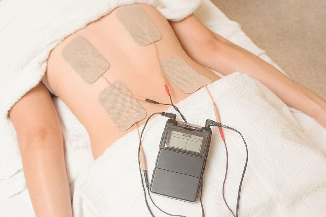 Muskelstimulationsgerät Test